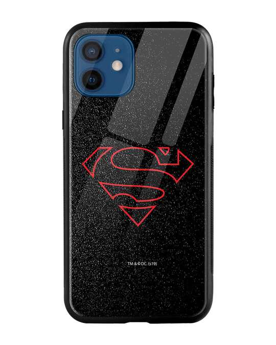 Shop Highlighted Superman iPhone 12 Mobile Cover-Front