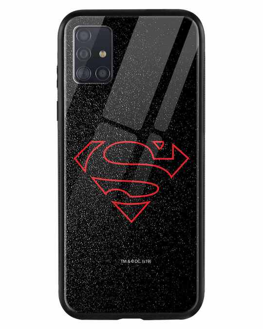 Shop Highlighted Superman Samsung Galaxy A51 Mobile Cover-Front