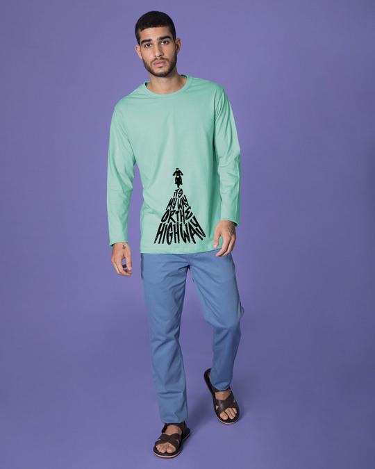 Shop Highway Full Sleeve T-Shirt-Design