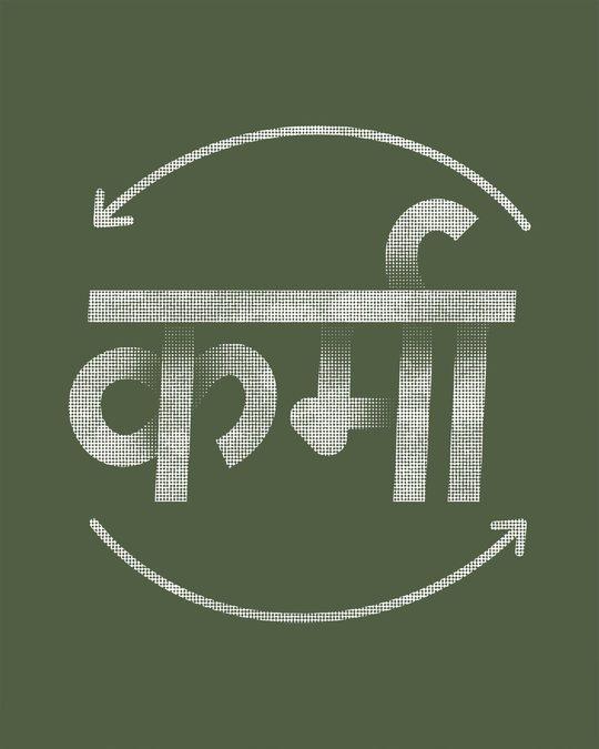 Shop Hindi Karma Boyfriend T-Shirt