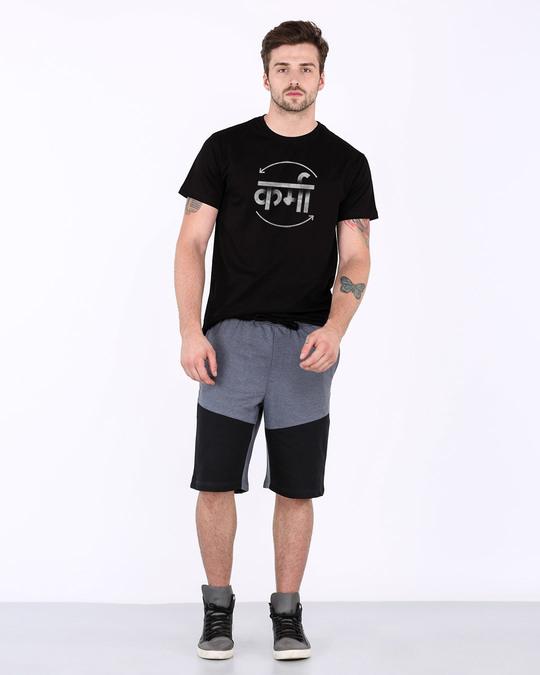 Shop Hindi Karma Half Sleeve T-Shirt