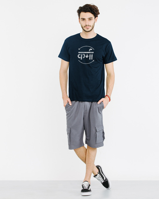 Shop Hindi Karma Half Sleeve T-Shirt