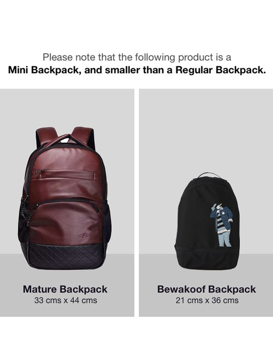 Shop Hip Hop Boy Bag Essential mini Backpack