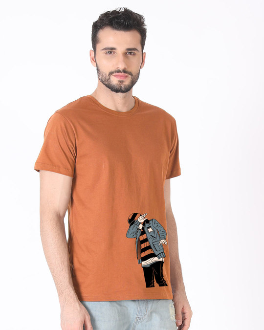 Shop Hip Hop Boy Half Sleeve T-Shirt-Design
