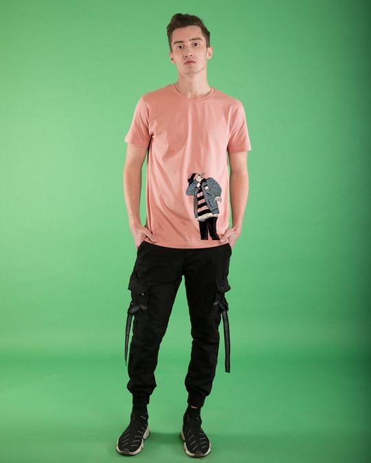 Shop Hip Hop Boy Half Sleeve T-Shirt