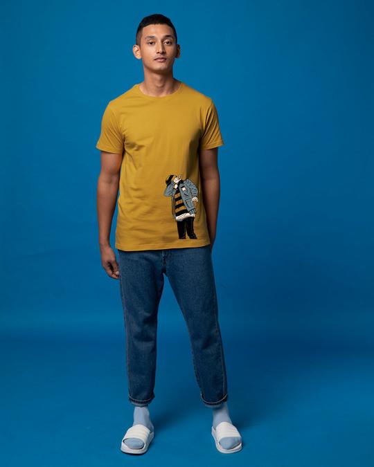 Shop Hip Hop Boy Half Sleeve T-Shirt-Full