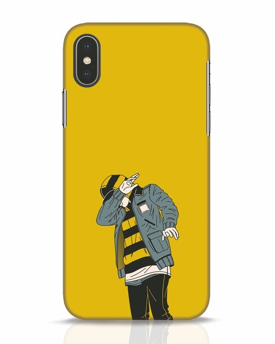 Shop Hip Hop Boy iPhone X Mobile Cover-Front