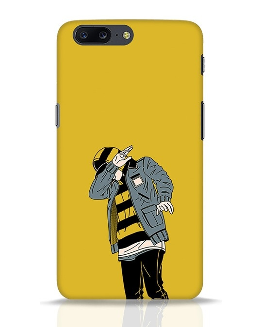 Shop Hip Hop Boy OnePlus 5 Mobile Cover-Front