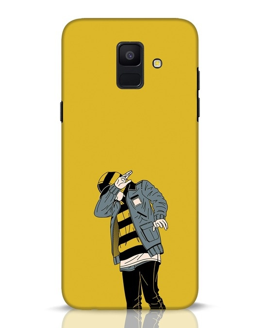 Shop Hip Hop Boy Samsung Galaxy A6 2018 Mobile Cover-Front