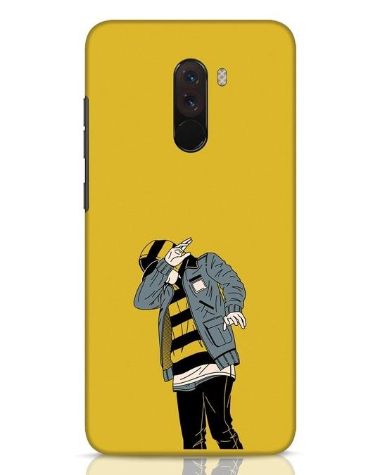 Shop Hip Hop Boy Xiaomi POCO F1 Mobile Cover-Front