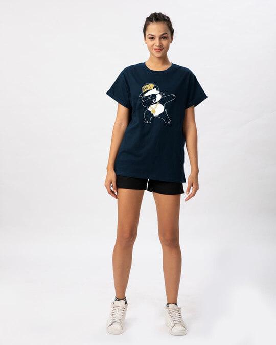 Shop Hip-hop Panda Boyfriend T-Shirt