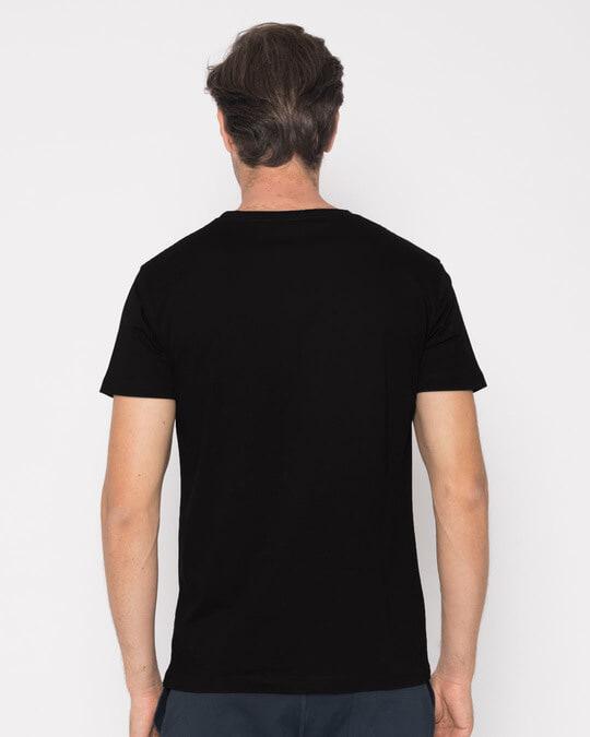 Shop Hip-hop Panda Half Sleeve T-Shirt-Full