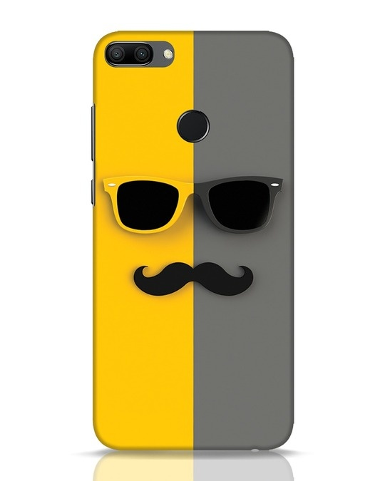 Shop Hipster Huawei Honor 9N Mobile Cover-Front