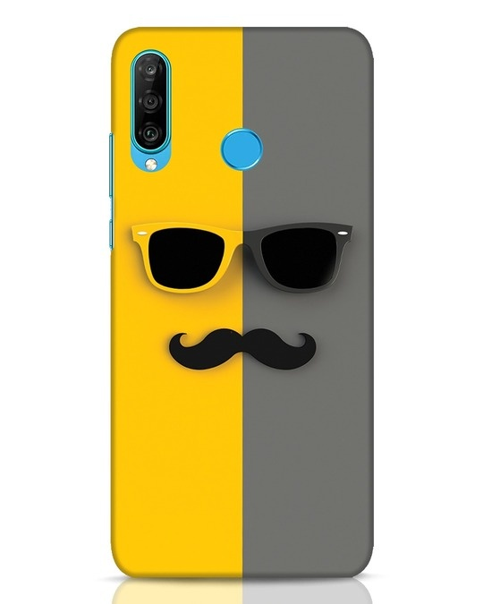 Shop Hipster Huawei P30 Lite Mobile Cover-Front