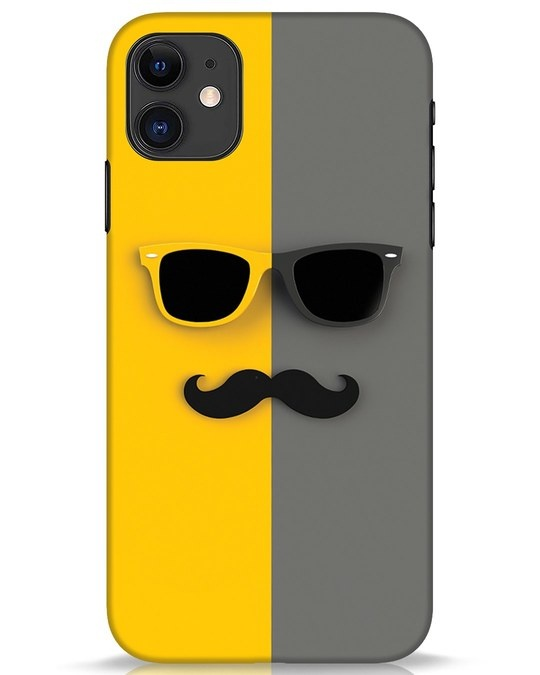 Shop Hipster iPhone 11 Mobile Cover-Front