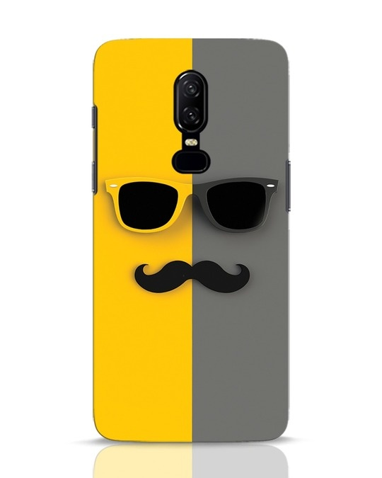 Shop Hipster OnePlus 6 Mobile Cover-Front