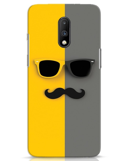 Shop Hipster OnePlus 7 Mobile Cover-Front