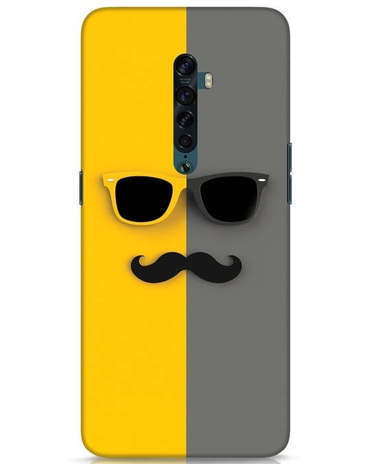 Shop Hipster Oppo Reno 2 Mobile Cover-Front