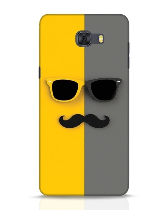 Shop Hipster Samsung Galaxy C9 Pro Mobile Cover-Front