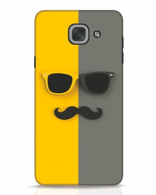 Shop Hipster Samsung Galaxy J7 Max Mobile Cover-Front