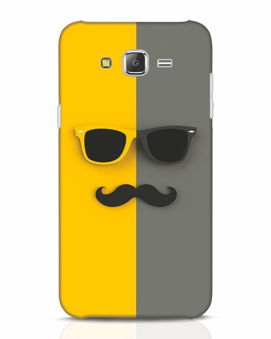 Shop Hipster Samsung Galaxy J7 Mobile Cover-Front