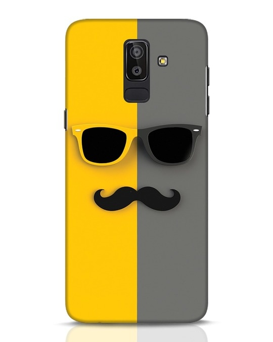 Shop Hipster Samsung Galaxy J8 Mobile Cover-Front