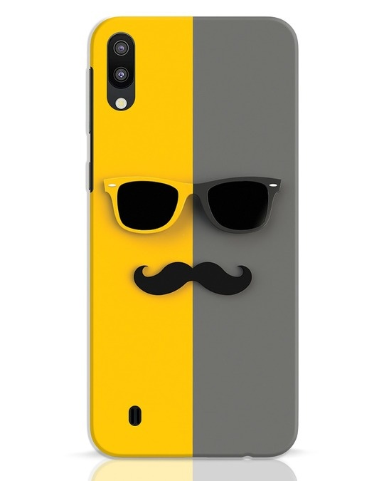 Shop Hipster Samsung Galaxy M10 Mobile Cover-Front
