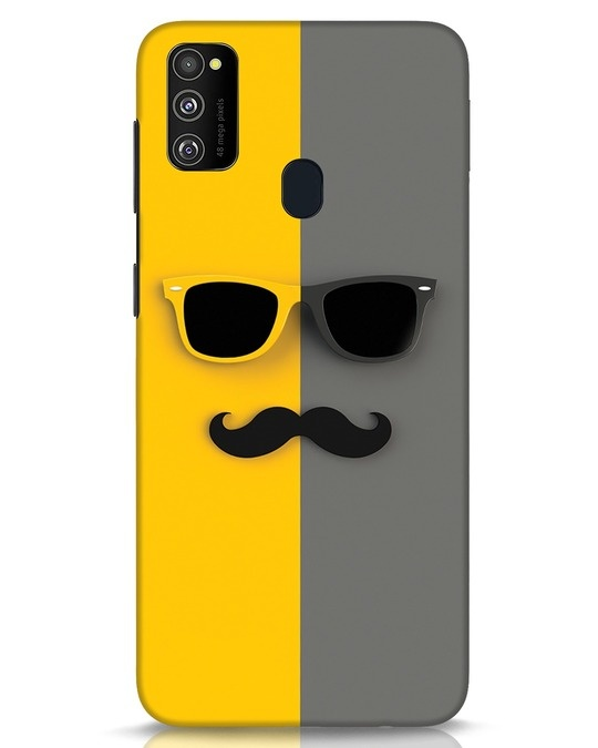 Shop Hipster Samsung Galaxy M30s Mobile Cover-Front