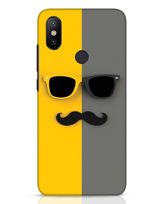 Shop Hipster Xiaomi Mi A2 Mobile Cover-Front