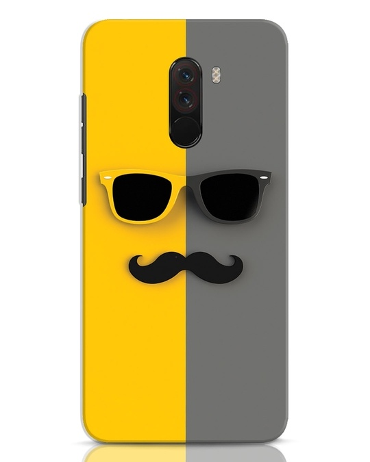 Shop Hipster Xiaomi POCO F1 Mobile Cover-Front
