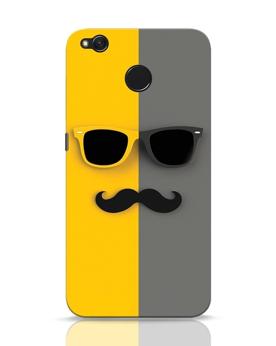 Shop Hipster Xiaomi Redmi 4 Mobile Cover-Front