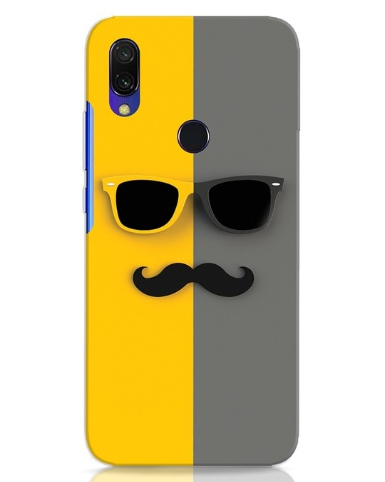Shop Hipster Xiaomi Redmi 7 Mobile Cover-Front