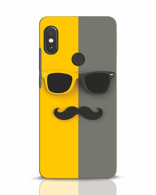 Shop Hipster Xiaomi Redmi Note 5 Pro Mobile Cover-Front