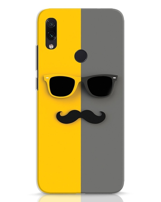 Shop Hipster Xiaomi Redmi Note 7 Pro Mobile Cover-Front