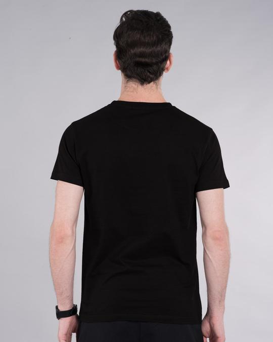 Shop Hisaab Half Sleeve T-Shirt-Back