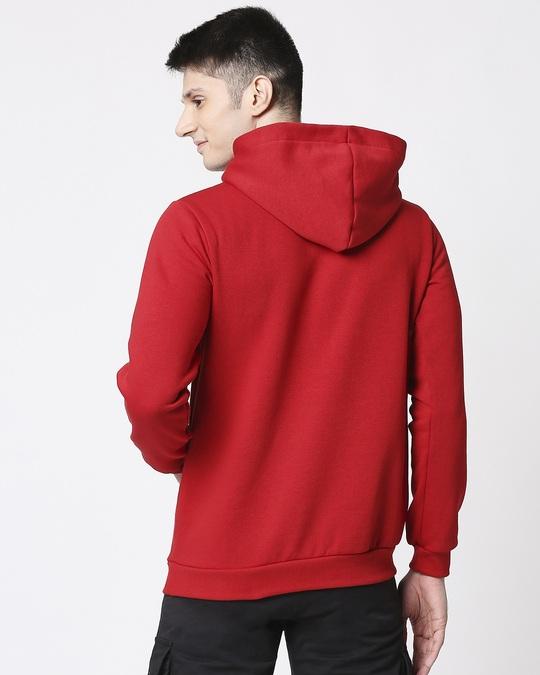 Shop Men Chest Printed ho ho Red Sweatshirt-Full
