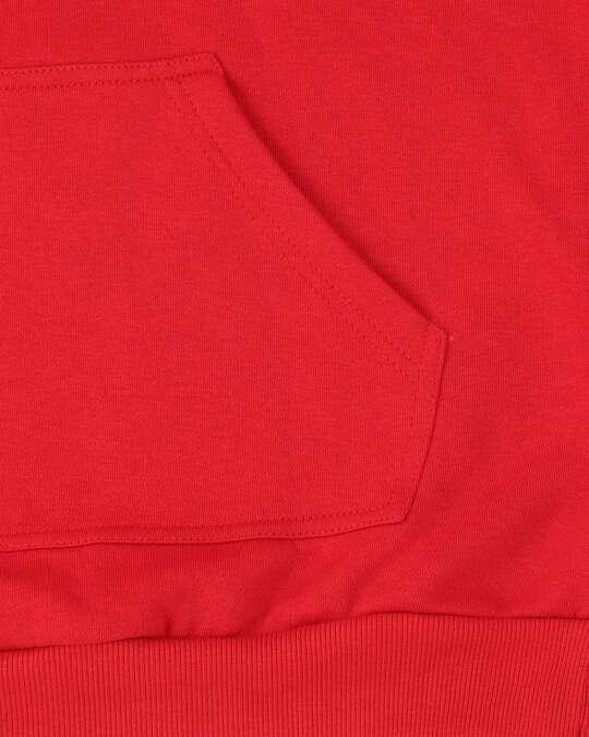 Shop Men Chest Printed ho ho Red Sweatshirt
