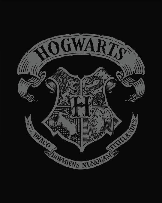 Shop Hogwarts Crest Boyfriend T-Shirt (HPL)
