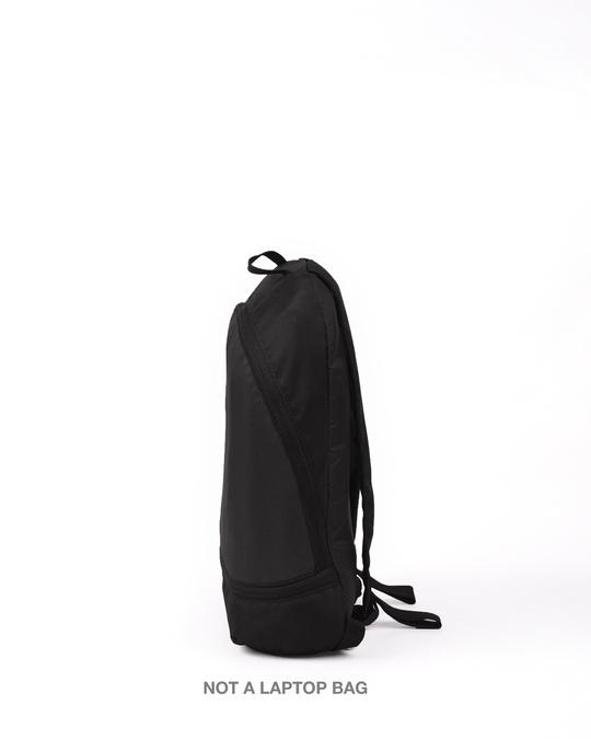 Shop Hogwarts Emblem  Printed Small Backpack (HP)-Back