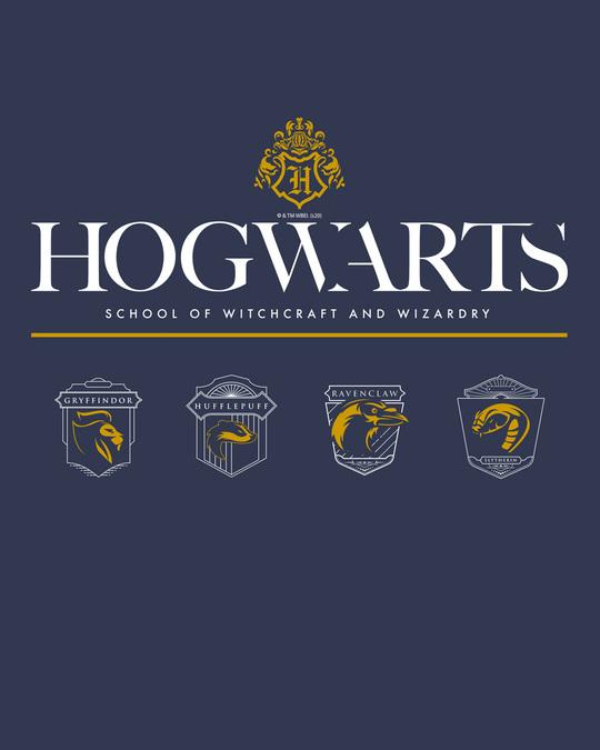 Shop Hogwarts School Full Sleeve T-Shirt (HPL)-Full