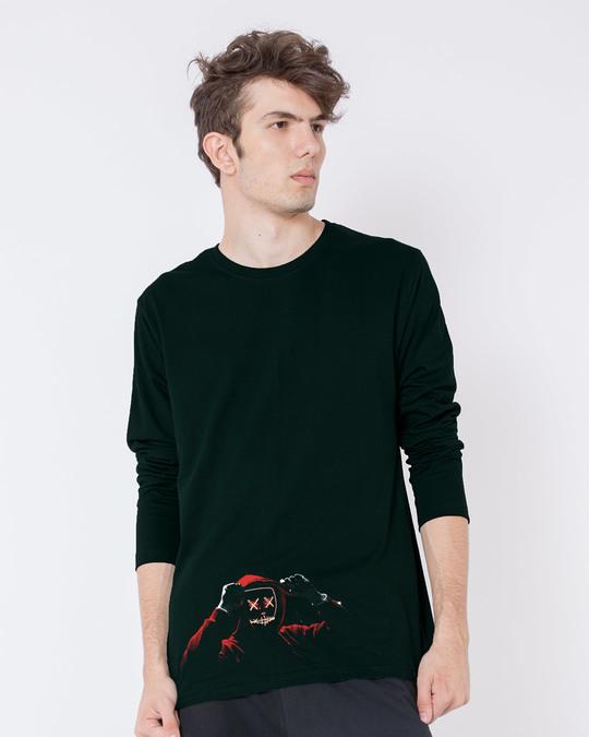 Shop Hoodie Boy Full Sleeve T-Shirt-Front