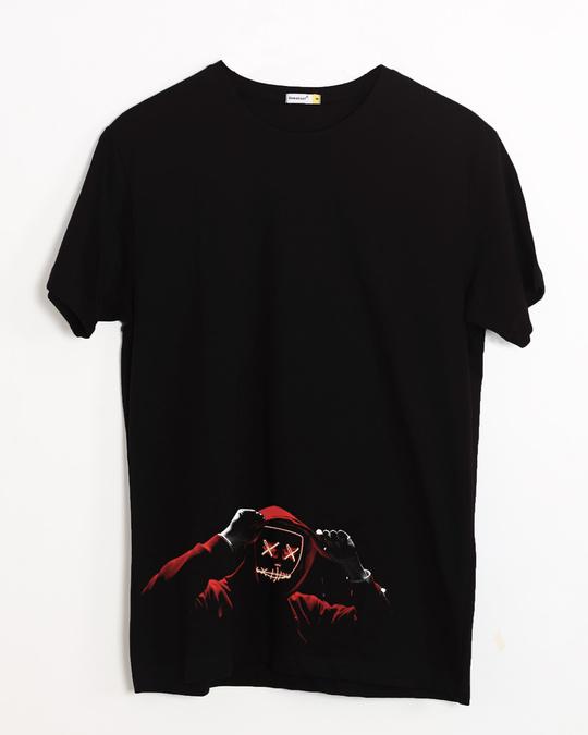 Shop Hoodie Boy Half Sleeve T-Shirt-Front