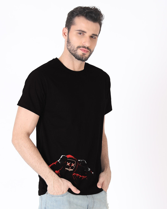Shop Hoodie Boy Half Sleeve T-Shirt-Full