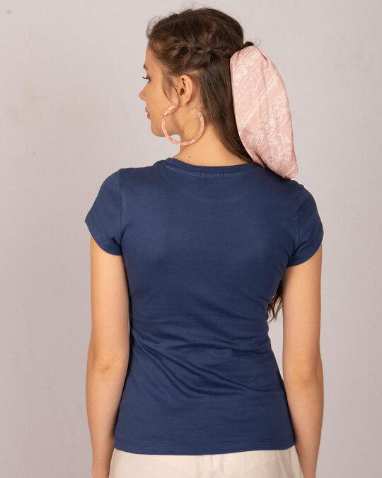 Shop Hope Flower Half Sleeve T-Shirt-Back