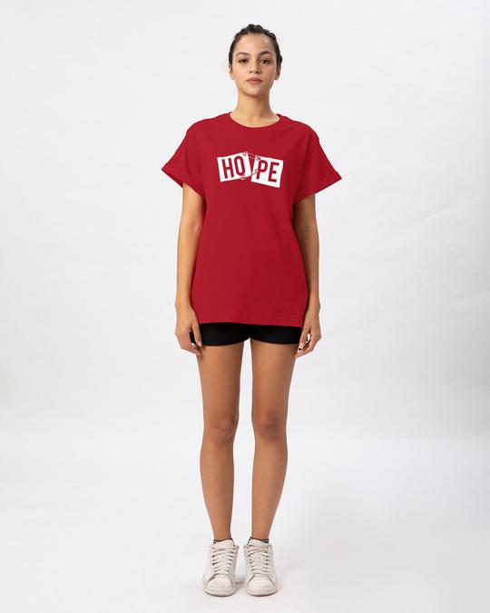 Shop Hope Pin Boyfriend T-Shirt-Full