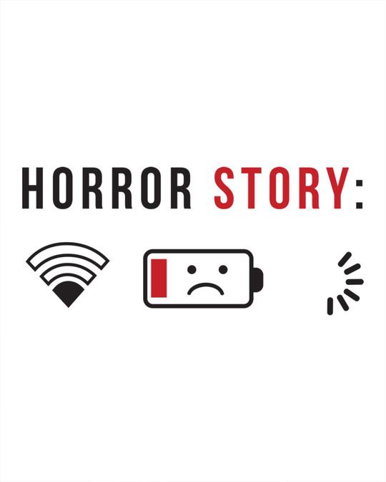 Shop Horror Story Basic Round Hem T-Shirt