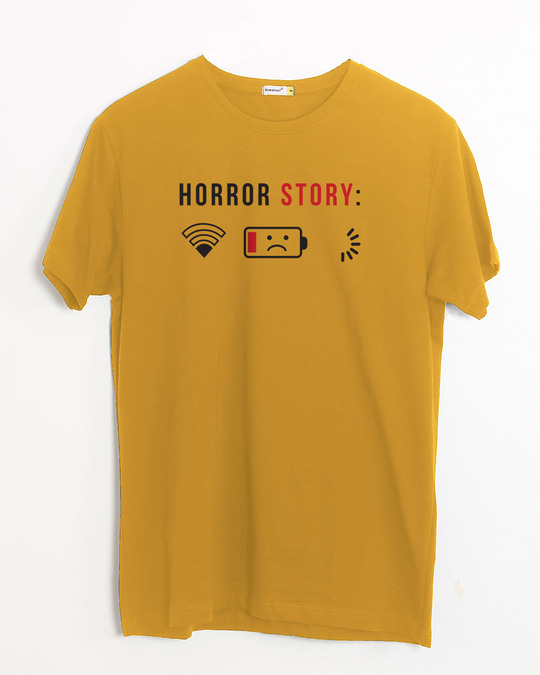 Shop Horror Story Half Sleeve T-Shirt-Front