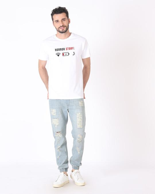 Shop Horror Story Half Sleeve T-Shirt-Full