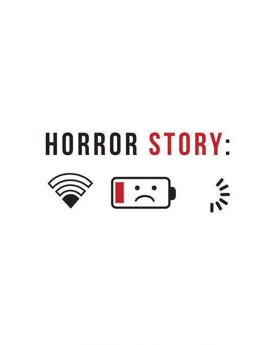 Shop Horror Story Half Sleeve T-Shirt