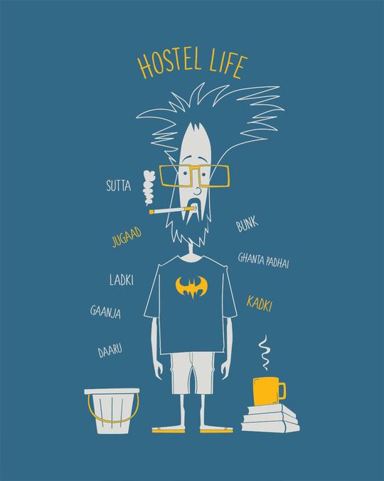 Shop Hostel Life Full Sleeve T-Shirt